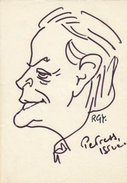 Rózsahegyi, György - Portrait of István Petress Journalist