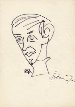 Rózsahegyi György - Szathmári Jenő író, újságíró portréja