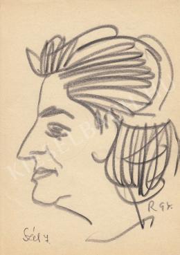 Rózsahegyi, György - Portrait of Júlia Szél Journalist