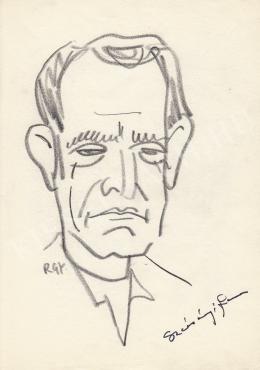 Rózsahegyi, György - Portrait of Ferenc Szécsényi Camera-man