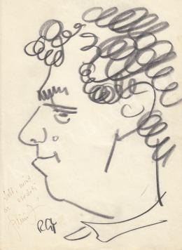 Rózsahegyi György - Szilágyi János újságíró portréja