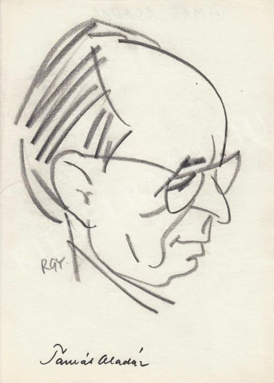 For sale  Rózsahegyi, György - Portrait of Aladár Tamás Writer 's painting