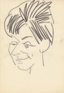 Rózsahegyi, György - Portrait of Eszter Tamási Newscaster
