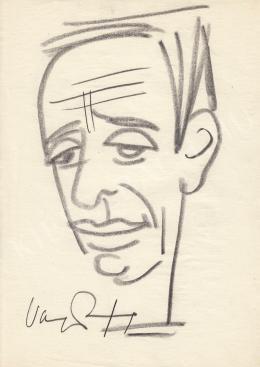 Rózsahegyi György - Varga József bemondó portréja