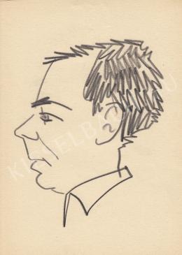 Rózsahegyi György - Vitray Tamás bemondó portréja