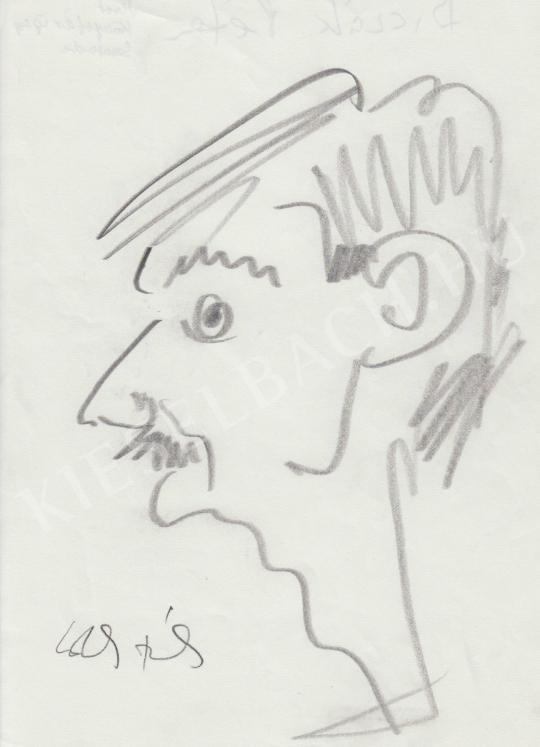 Eladó  Rózsahegyi György - Biczák Péter portréja festménye