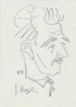 Rózsahegyi György - S. Hegedűs László író, költő, újságíró, kritikus portréja