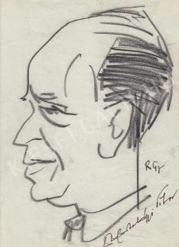 Rózsahegyi György - S. Hortobágyi Tibor biológus portréja