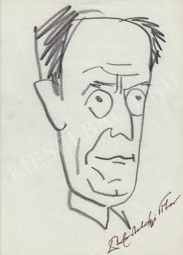 Rózsahegyi, György - Portrait of Tibor Hortobágyi S. Biologist