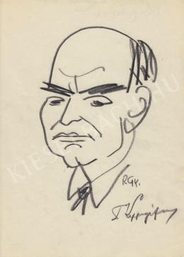 Rózsahegyi György - dr. Lippányi portréja