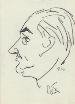 Rózsahegyi György - dr. Pella László portréja (1970-es évek)