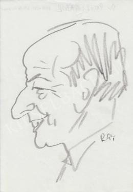 Rózsahegyi, György - Portrait of Gábor Petri dr. Surgeon, Politician