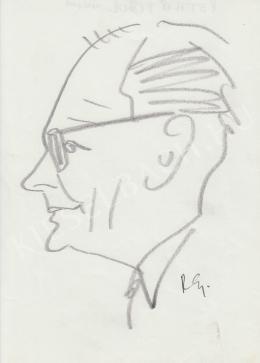 Rózsahegyi, György - Portrait of Tibor Pethő Journalist