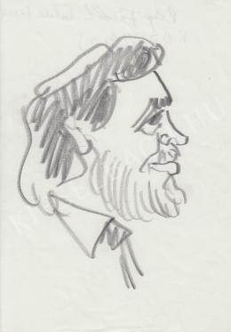 Rózsahegyi, György - Portrait of Tamás Raj Rabbi