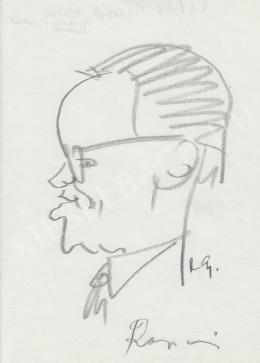 Rózsahegyi György - Rapai Gyula politikus, kiadóigazgató portréja