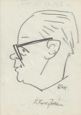 Rózsahegyi, György - Portrait of Zoltán Révay dr.