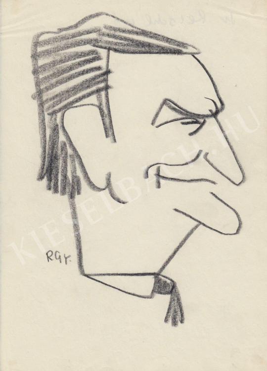 Eladó  Rózsahegyi György - dr. Reischl professzor portréja festménye
