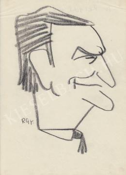 Rózsahegyi, György - Portrait of Reischl Prof.