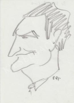 Rózsahegyi György - dr. Reischl professzor portréja