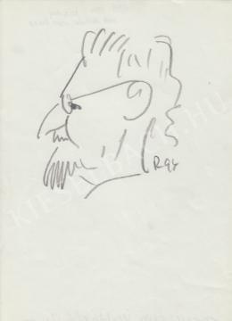 Rózsahegyi, György - Portrait of Imre Trencsényi-Waldaphel Historian