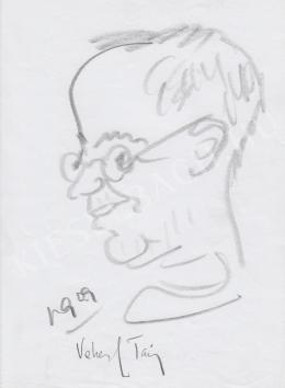 Rózsahegyi, György - Portrait of Tamás Vekerdy Psychologist, Writer