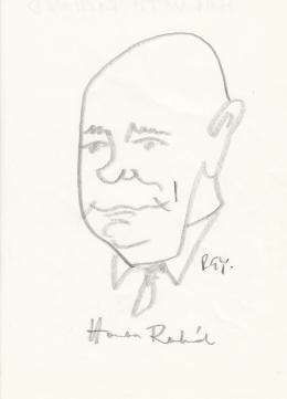 Rózsahegyi, György - Portrait of Richard Horváth Priest, Politician