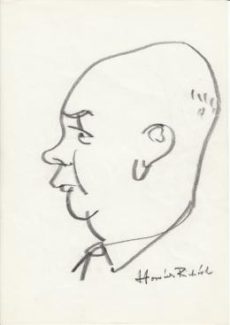 Rózsahegyi György - Horváth Richard pap, politikus portréja (1970-as évek)