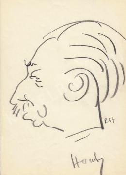 Rózsahegyi, György - Portrait of Ferenc Hont Director