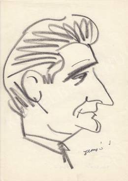 Rózsahegyi, György - Portrait of István Huszár Economist, Statistician