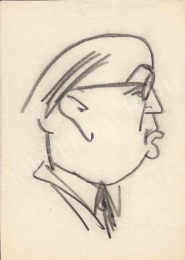 Rózsahegyi, György - Portrait of Pál Ilku Politician