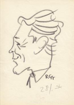 Rózsahegyi György - Jedlicska Gyula politikus portréja