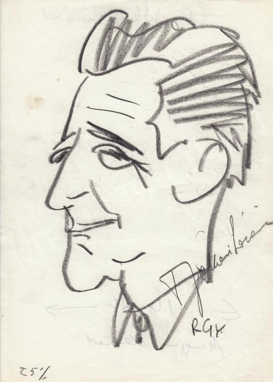 Eladó  Rózsahegyi György - dr. Jókai Lóránd jogász, író portréja festménye