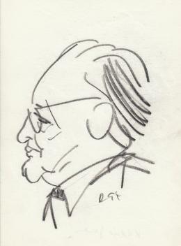Rózsahegyi György - Kádár János politikus portréja (1970-es évek)