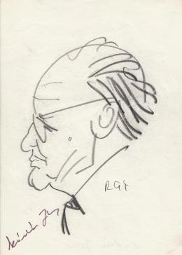 Rózsahegyi, György - Portrait of János Kádár Politician
