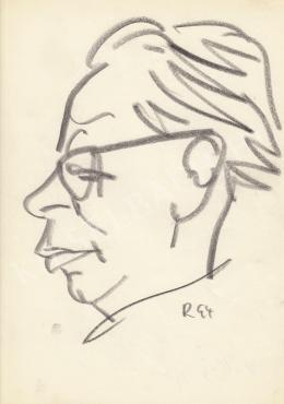 Rózsahegyi György - Kállai Gyula politikus portréja (1970-es évek)