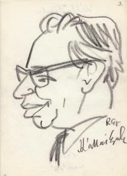 Rózsahegyi, György - Portrait of Gyula Kállai Politician