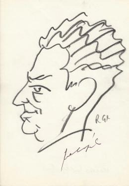 Rózsahegyi György - Kelen Béla, az Esti Hírlap főszerkesztőjének portréja