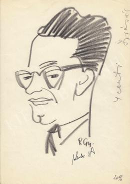 Rózsahegyi György - Keszler Pál színházigazgató portréja