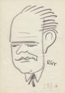 Rózsahegyi György - Kisgergely Lajos vállalati igazgató, politikus portréja