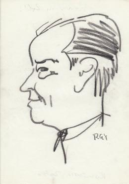 Rózsahegyi, György - Portrait of Zoltán Komócsin Politician