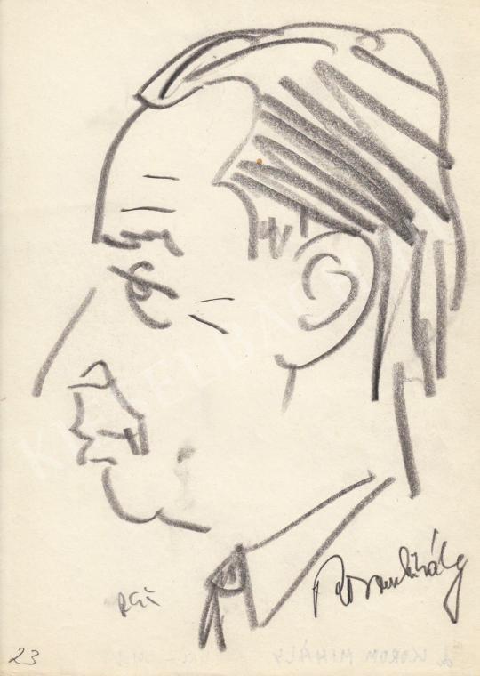 Eladó  Rózsahegyi György - Korom Mihály politikus portréja festménye