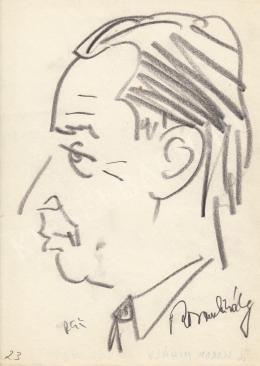 Rózsahegyi György - Korom Mihály politikus portréja