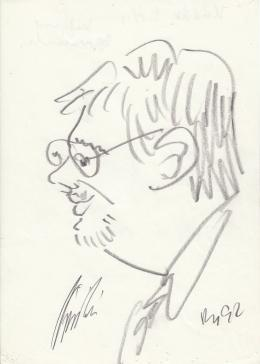 Rózsahegyi György - Kádár Béla politikus portréja (1970-es évek)