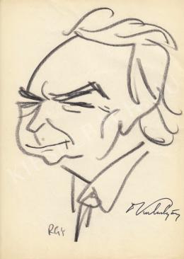 Rózsahegyi György - Kulin György csilagász portréja