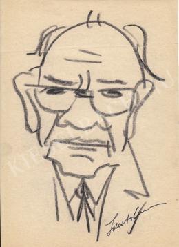 Rózsahegyi, György - Portrait of Vince Lakatos Photographer