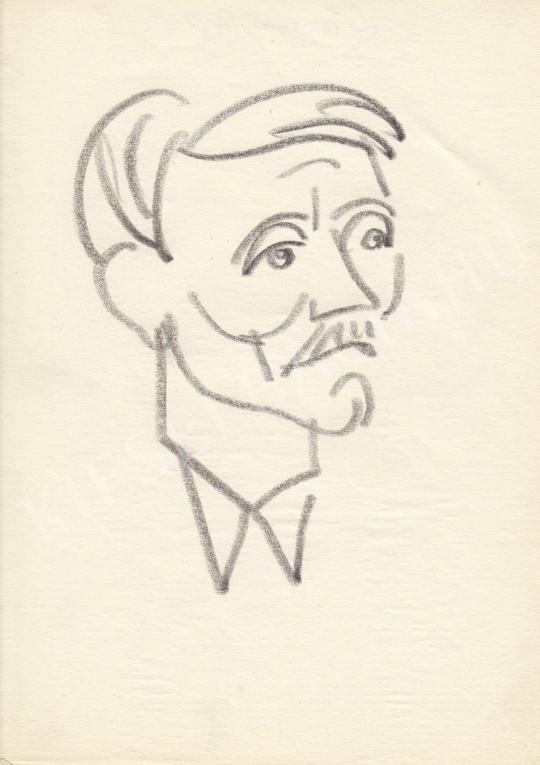 Eladó  Rózsahegyi György - Lázár György politikus portréja festménye