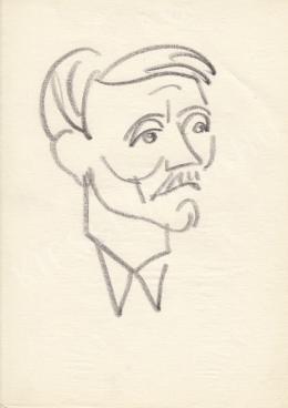 Rózsahegyi György - Lázár György politikus portréja
