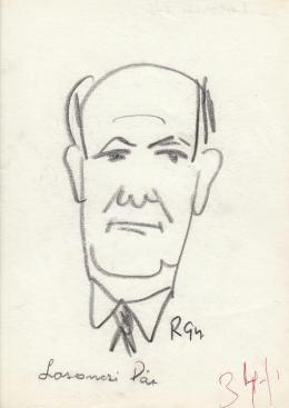 Rózsahegyi György - Losonczi Pál politikus portréja