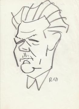 Rózsahegyi György - dr. Lévárdi Ferenc orvos portréja