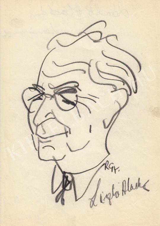 Eladó  Rózsahegyi György - László Aladár újságíró portréja festménye